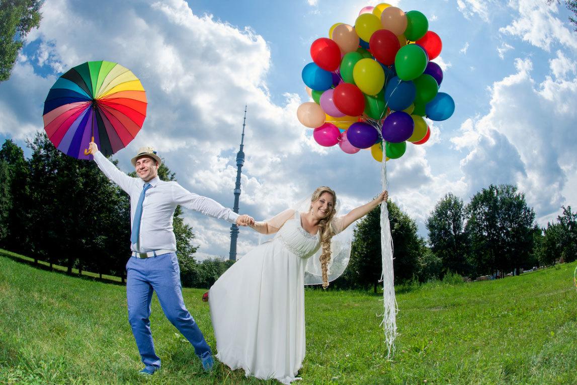 свадебная фотосессия с воздушными шарами (3)