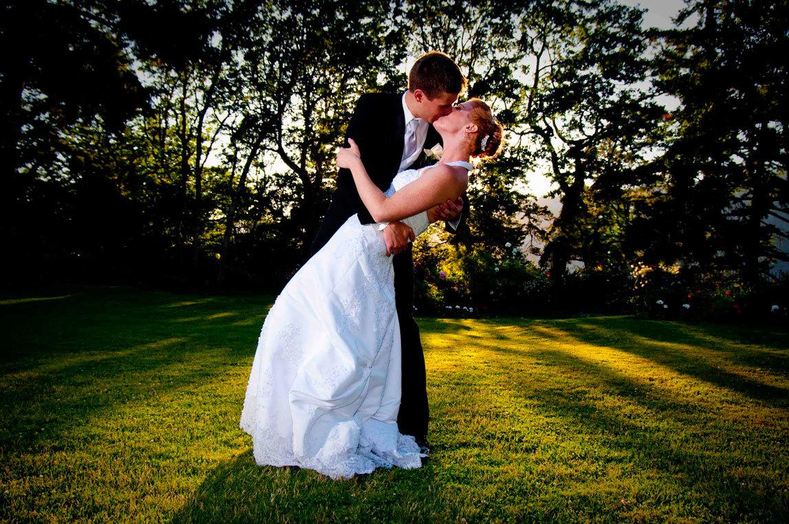 красивая свадьба летом